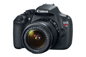 BRAND NEW CANON EOS REBEL T5 - SEALED IN BOX!!!