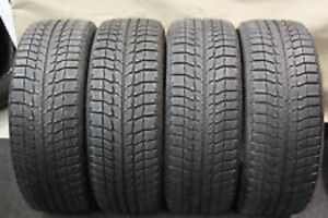 225/60R17	Michelin Xice 4 used winer tires 75% tread left