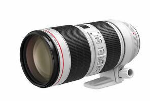 Objectif Canon EF 70-200mm f/2.8L IS III BRAND NEW VALEUR 3100$
