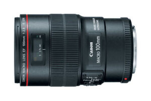 Canon EF 100mm f/2.8L Macro IS USM Lens (New Condition)