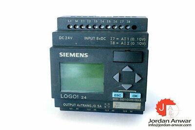 Siemens 6ed1 052-1cc00-0ba5 Logo Module
