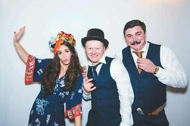 Photobooth for weddings, Xmas parties, corporate events etc