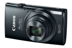 Canon PowerShot ELPH 170 IS  20.0MP 12 X Optical Zoom
