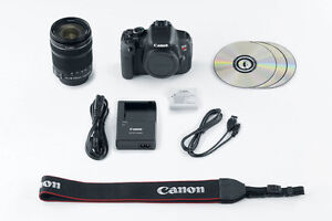 Canon T4i 18-135mm STM, 2x battery, filters, bag, 16GB SD