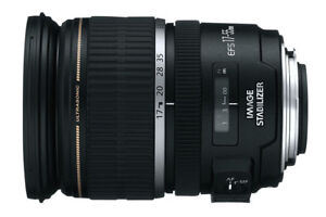 Canon  EFS 17-55mm USM 2.8 IS Lens - DSLR