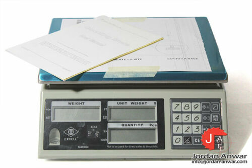 EXCELL ALC3 MAX 3 KG COUNTING SCALE