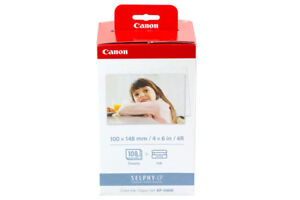 """Canon KP-108IN 4"""" x 6"""" Colour Paper and Ink Pack"""