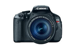 Wanted: CANON T3, T3i, T4, T4i, T5, T5i DSLR Camera