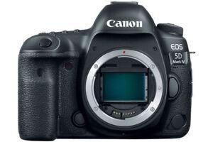 Appareil Canon EOS 5D Mark IV CF/SDHC/XC VALEUR 4700$ BRAND NEW