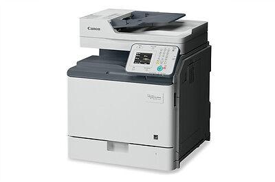 Canon Network Printer Copiers - Canon IMAGECLASS MF820Cdn Color MFP Duplex Printer Copier Network Scan Fax 36PPM