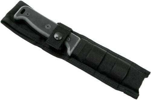 Ontario Black Bird SK-5 Noir w/ Nylon Sheath