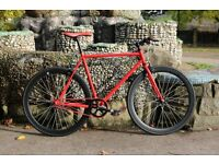 Brand new single speed fixed gear fixie bike/ road bike/ bicycles + 1year warranty & free service f7