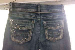 """""""Warehouse One"""" Jeans with bling 31/reg"""