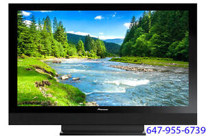 """Pioneer 50"""" HDTV + BlueRay Smart TV Player + HDMI Cable"""