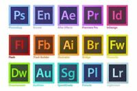Photoshop CS6, Premier PRO, Illustrator and more. $40/each