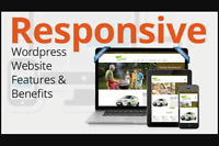 I Will Design a 100% FULLY Responsive Wordpress Website.