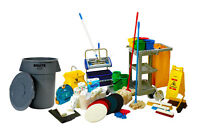 Cleaning and Janitorial supplies & equipments