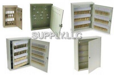 Lock Box Metal Safe Hook Key Tags Home Car Storage Case Cabinet Steel Wall Mount
