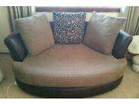 2 seater cuddle sofa