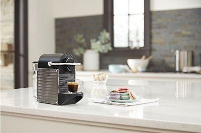 Breville BEC420TTN1AUC1 Nespresso Pixie Original Espresso Machine by, Titan