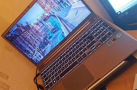Samsung Series 7 Chronos i5 Laptop Silver backlit