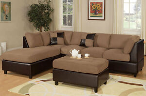 Sectional Sectionals Sofa Couch Loveseat Couches with FREE OTTOMAN