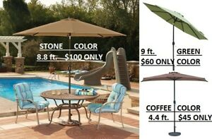 Island Umbrella, Full-Sized, Market Patio Umbrella, FINAL SALE