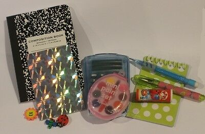 Lovvbugg School Supplies 10 pc Set for 18
