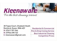 Cleaning services in london and Essex £12.50 per hour. This includes End of Tenancy, carpet clean