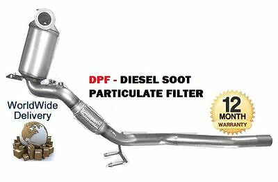 FOR AUDI A3 1.9 TDi 105BHP BLS ENG 2005-2010 DPF DIESEL SOOT PARTICULATE FILTER