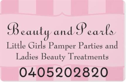 beauty and pearls pamper parties Hamersley Stirling Area Preview