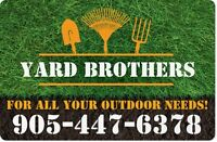 Sodding, Grass Cutting, Yard clean up, and much more!!