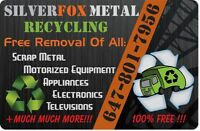 FREE Pick Up of all Appliances, Tv/Electronics, Scrap Metal FREE