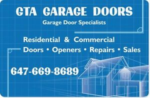 Garage Door & Opener Repair, All Doors ,WWW.GTADOOR.COM