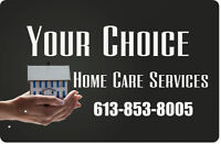 Certified Home Care