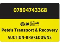 PETE'S TRANSPORT & RECOVERY