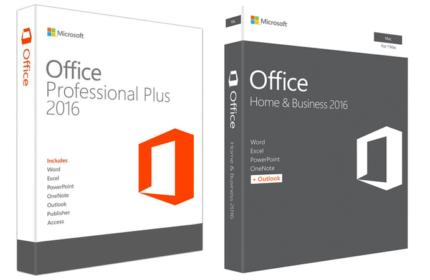 Office 2016 - Windows/Mac
