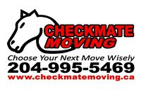 CHECKMATE MOVING & STORAGE 204-995-5469