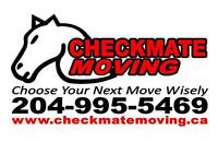 Checkmate Moving - 20+ Years Exp CHOOSE YOUR NEXT MOVE WISELY