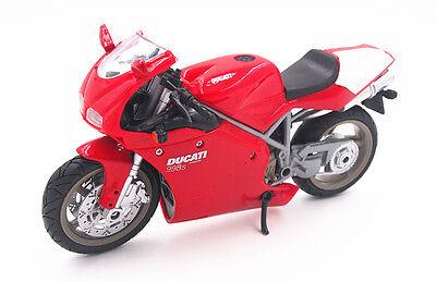 1:12 Newray Ducati 998S Motocycle Bike Model Red in Box