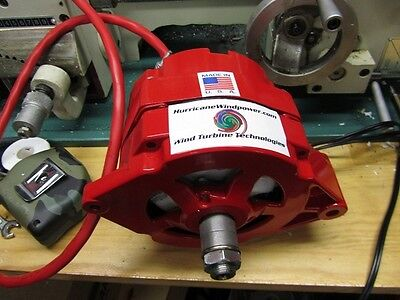 Low Wind Generator Permanent Magnet Alternator - Hurricane Cat Iv-i Platinum Pma