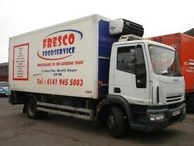 IVECO EUROCARGO 14 Tonne Fridge Truck Diesel Box