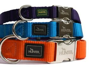 HUNTER-DOG-COLLAR-WITH-ALU-STRONG-CLIP