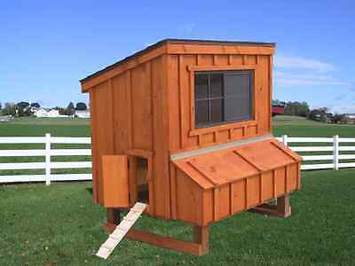 CHICKEN COOP PA DUTCH AMISH BUILT CUSTOM PEN POULTRY SHED HEN HOUSE NEST BOX NEW on Rummage