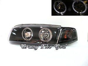 Lancer EVO Evolution 4 IV 1996-1998 Angel-Eye HEADLIGHT BK Mitsubishi