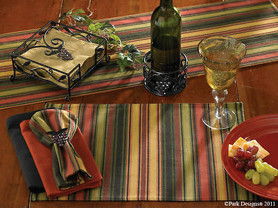 Wine Cellar Striped Placemat