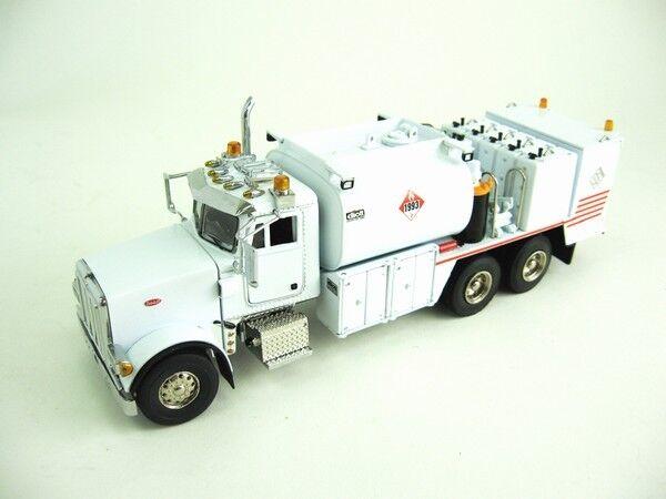 Peterbilt 357 Fuel+lube Truck - white - 1/50 - Sword Sw2041w