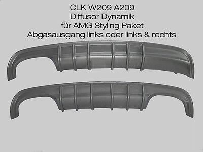 Mercedes CLK W209 Diffusor Dynamik für AMG Stylingpaket Ausschnitt links /rechts online kaufen
