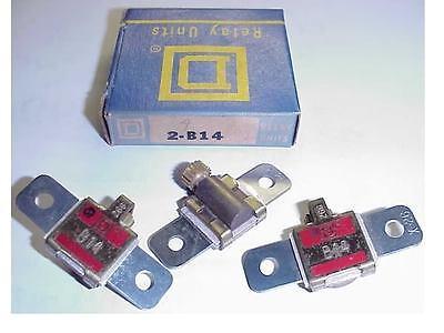 2 New Square D B19 5 Motor Starter Overload Heaters Ebay