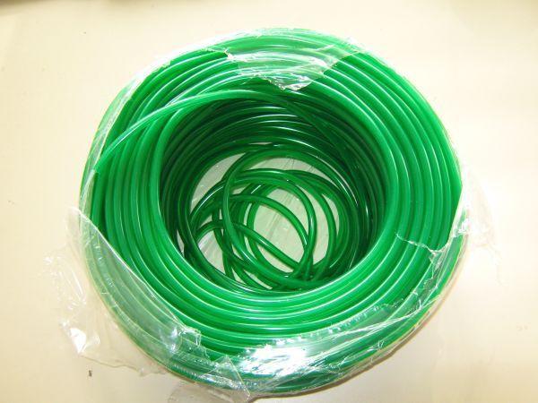 10 m PVC Luftschlauch grün 4/6 mm